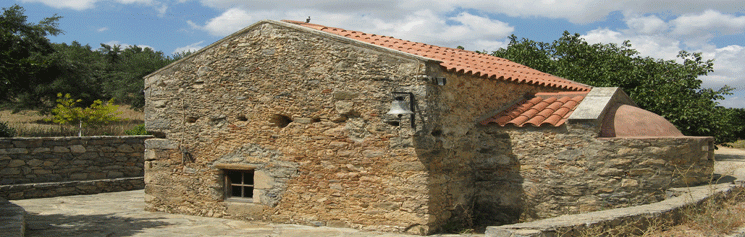 kleine kapelle auf Kreta