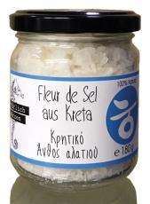Fleur de Sel aus Kreta, 125 g