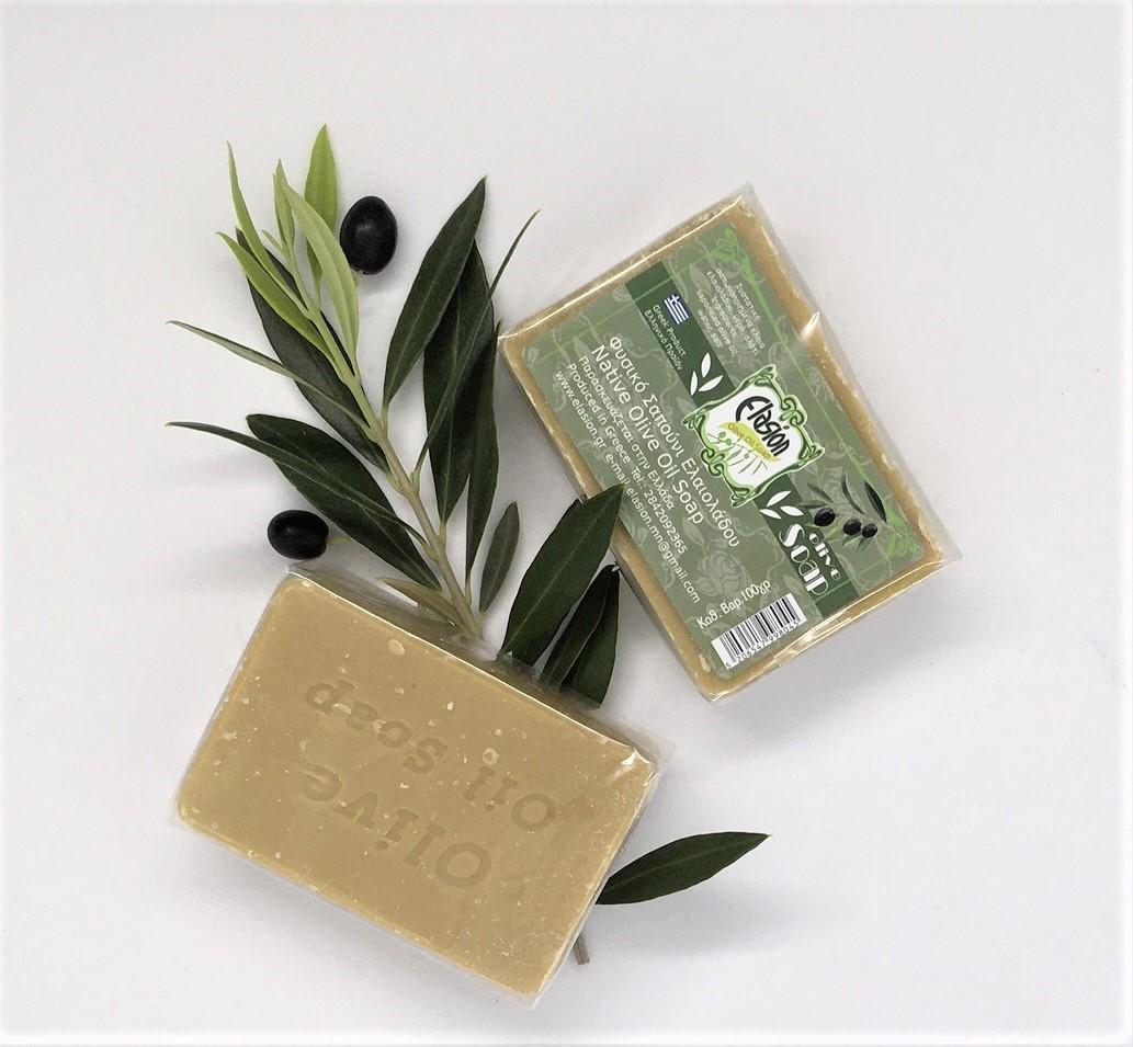 Olivenseife aus Kreta