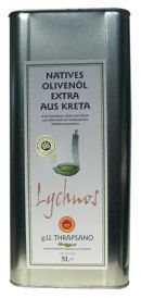 Lychnos natives Olivenoel natives, erste Kaltpressung, 5,0 L