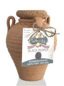 Pfeffer schwarz in Keramik Amphore, 80 g